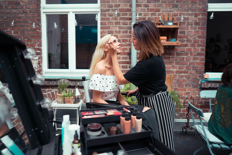 Make up workshop mit Ekaterina