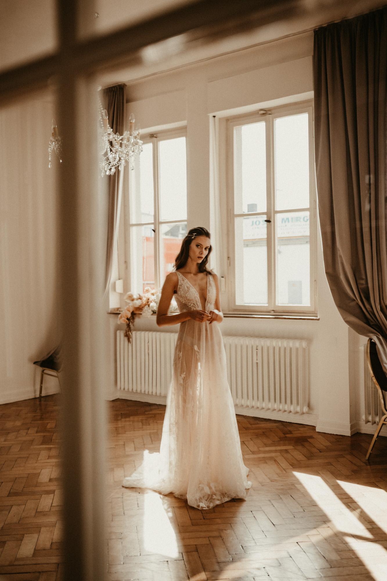 Visagistin für Fashion Style Shooting in Köln (Brautstyling, Haare und Make-Up by Ekaterina Freidich)